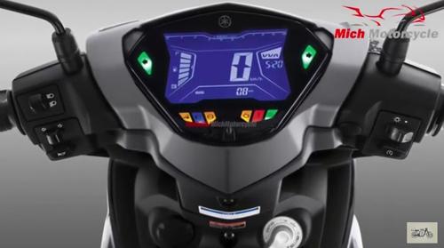 Bảng đồng hồ có chữ VVA ở góc phải, viết tắt của công nghệ điều khiển van biến thiên.