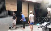 Thợ hàn mất mạng vì xe bồn phát nổ