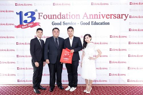 Ban Giám đốc Đại học quốc tế Inti tham dự lễ kỷ niệm 13 năm thành lập Trung tâm Du học Hằng Lương.