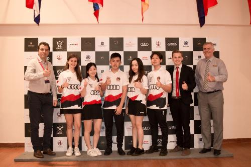 Đội Nam Phong Việt Nam sẽ tham gia vòng chung kết cuộc thi F1 trong trường học tại Singapore với sự đồng hành của Audi.