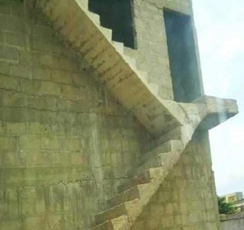 Cầu thang độc nhất thế giới.