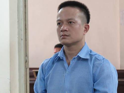 Bị cáo Vũ Hữu Hà tại phiên tòa.