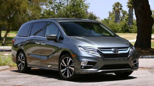 Honda Odyssey là chiếc minivan duy nhất trong danh sách.