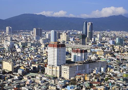 Một góc đô thị Đà Nẵng. Ảnh: Nguyễn Đông.