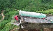 Tài xế Trung Quốc thoát chết nhờ lưới khổng lồ trên cao tốc tử thần