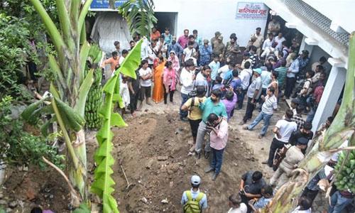 Trại tị nạn Seva Sankalp Samiti ở bang Bihar, miền đông Ấn Độ. Ảnh: Al Jazeera.