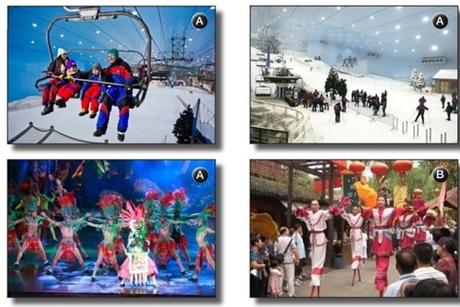 Hình ảnh mô phỏng các dịch vụ mà công viên giải trí của công ty Tống Thành dự kiến cung cấp ở Australia. Ảnh: Công ty Tống Thành.