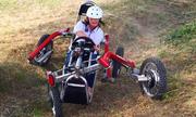 Xe điện di chuyển giống nhện có thể vượt nhiều địa hình