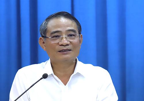 Ông Trương Quang Nghĩa - Bí thư Thành uỷ Đà Nẵng. Ảnh: Nguyễn Đông.