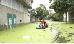 Cuộc sống trong vùng rốn ngập ở Hà Nội