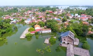 Vì sao huyện ngoại thành Hà Nội ngày càng ngập nặng?
