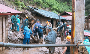 6 người chết do sạt lở đất ở Lai Châu