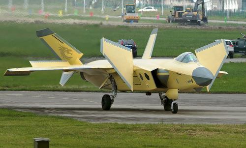 Hình ảnh chiếc J-20 được Trung Quốc công bố hôm 1/8. Ảnh: Sina.
