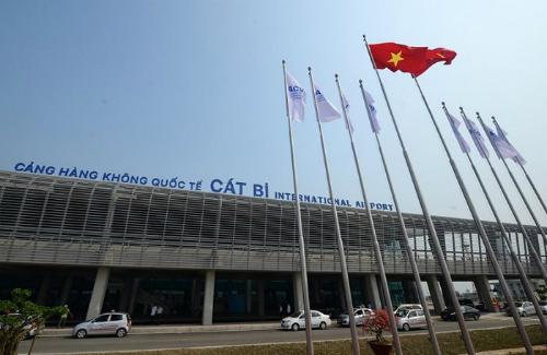Sân bay Cát Bi. Ảnh: CTV