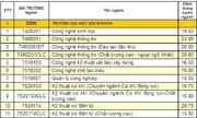Đại học Đà Nẵng công bố điểm chuẩn 9 trường, khoa trực thuộc