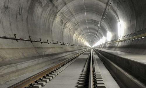 Hầm đường sắt dài nhất thế giới ở Trung Quốc sẽ nối đại lục với Đài Loan. Ảnh: Chron.com.