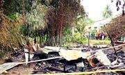 Hai mẹ con tử vong trong vụ phóng hỏa ở Cà Mau