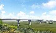 Hơn 1.000 tỷ đồng xây cầu nối Nghệ An - Hà Tĩnh