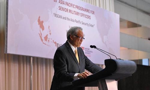 Singapore thúc giục Trung Quốc và ASEAN hoàn tất bộ quy tắc ứng xử trên Biển Đông