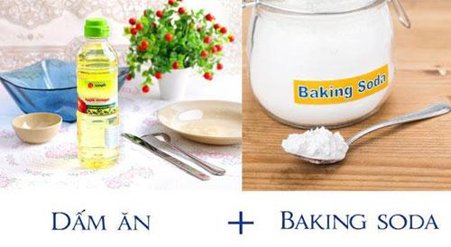 Baking soda trộn giấm tại sao lại phát nổ?