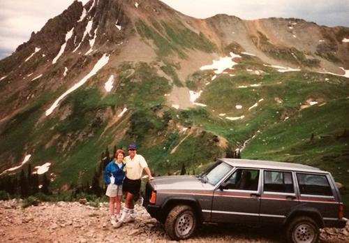 Harold và người vợ đầu Sandra. Ảnh: westword.
