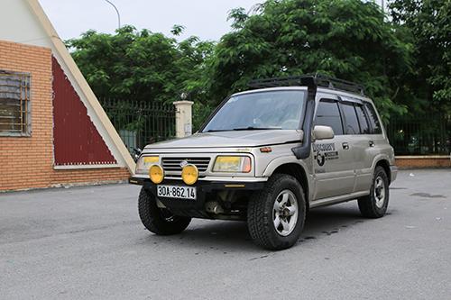 Chiếc Vitara đời 2004 có giá 250 triệu của anh Bình.