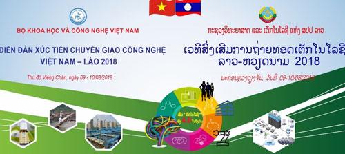 TechConnect Việt Nam - Lào dự kiến sẽ thu hút sự tham gia của hơn 300 đại biểu đến từ bộ, ngành, viện nghiên cứu, trường đại học, doanh nghiệp của Việt Nam và Lào.