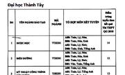 Điểm chuẩn Đại học Thành Tây, Công nghiệp dệt may Hà Nội