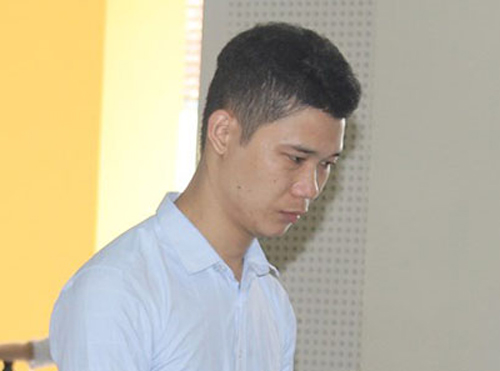 Lưu Văn Đức tại tòa.
