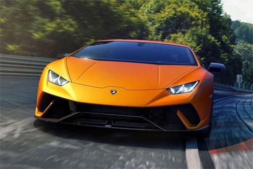 Những chiếcLamborghini có thể đạt tốc độ tới 350 km/h tùy từng mẫu xe.
