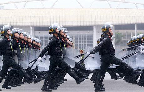Bộ Tư lệnh cảnh sát cơ động được giữ nguyên. Ảnh: Bá Đô