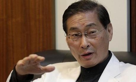 Chang An-lo, lãnh đạo đảng Xúc tiến Thống nhất Trung Quốc. Ảnh: Reuters.