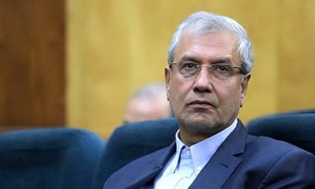 Ông Ali Rabiei, Bộ trưởng Lao động Iran. Ảnh: MNA.