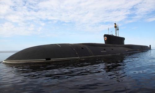 Một tàu ngầm lớp Borei của Nga. Ảnh:Livejournal.