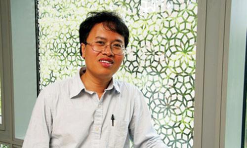 Chân dung Giáo sư Đàm Thanh Sơn. Ảnh:UChicago News.
