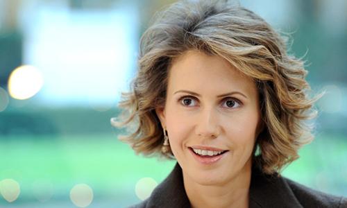 Đệ nhất phu nhân Asmaal-Assad. Ảnh: AFP