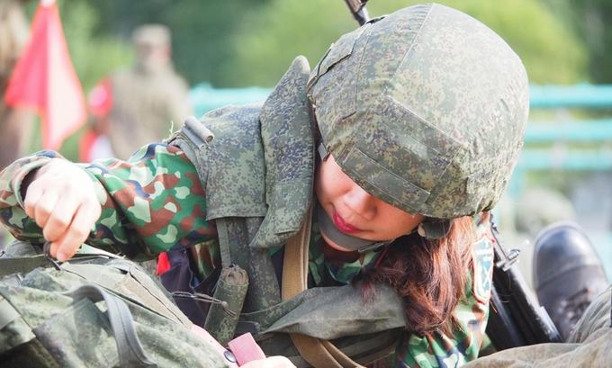 Nữ quân y Việt Nam so tài tại giải đấu quân sự quốc tế