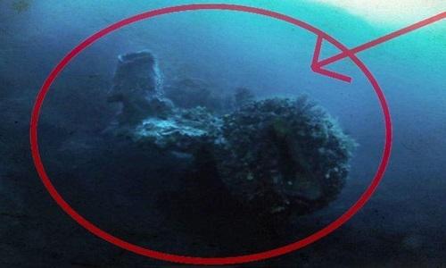 Vật thể được bao phủ bởi lớp san hô dày. Ảnh: Discovery.