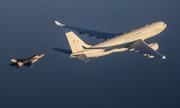 Siêu tiêm kích F-35B Anh chao đảo sau động tác tiếp dầu hụt