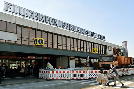Sân bay Schönefeld ở thủ đô Berlin, Đức. Ảnh: DPA
