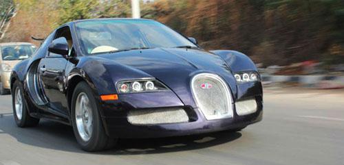 Mẫu xe độ có kích thước nhỏ hơn nhiều Veyron.