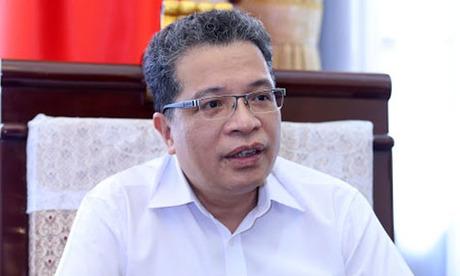 Đại sứ Việt Nam tại Trung Quốc Đặng Minh Khôi. Ảnh: Giang Huy.
