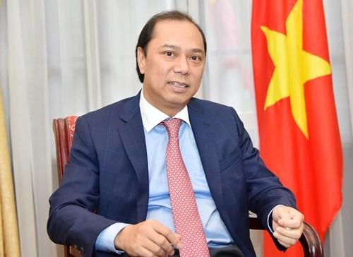 Thứ trưởng Ngoại giao Nguyễn Quốc Dũng. Ảnh: Bộ Ngoại giao.