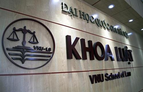 Khoa Luật, Đại học Quốc gia Hà Nội. Ảnh: Law.