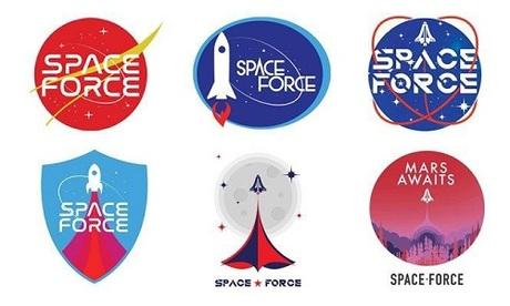 Trump phát động chiến dịch chọn logo cho binh chủng vũ trụ