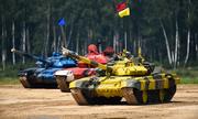 4 đội lọt vào trận chung kết giải đua tăng quốc tế ở Nga