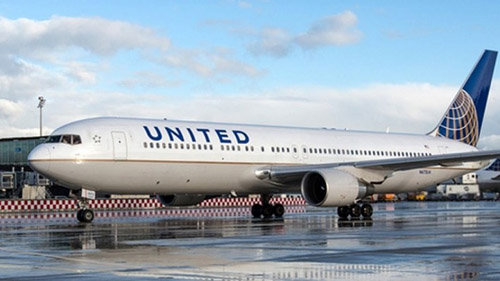 Một máy bay của hãng United Airlines tại sân bay Zurich, Thụy Sĩ năm 2017. Ảnh: Flightlevel80.