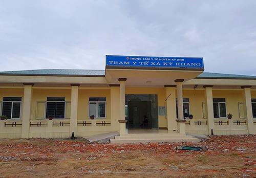 Trạm Y tế xã Kỳ Khang, nơi xảy ra sự việc. Ảnh: Đ.H