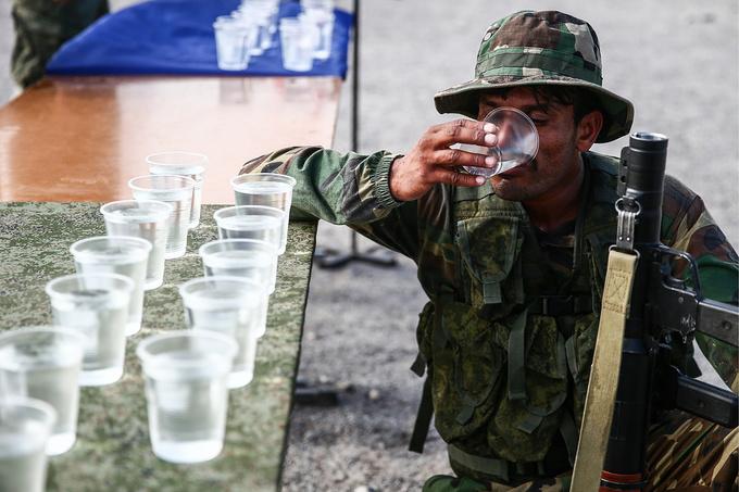 Những hình ảnh ấn tượng tại giải đấu quân sự quốc tế 2018