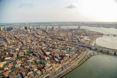 Một góc Nigeria nhìn từ trên cao. Ảnh: Conde Nast Traveler